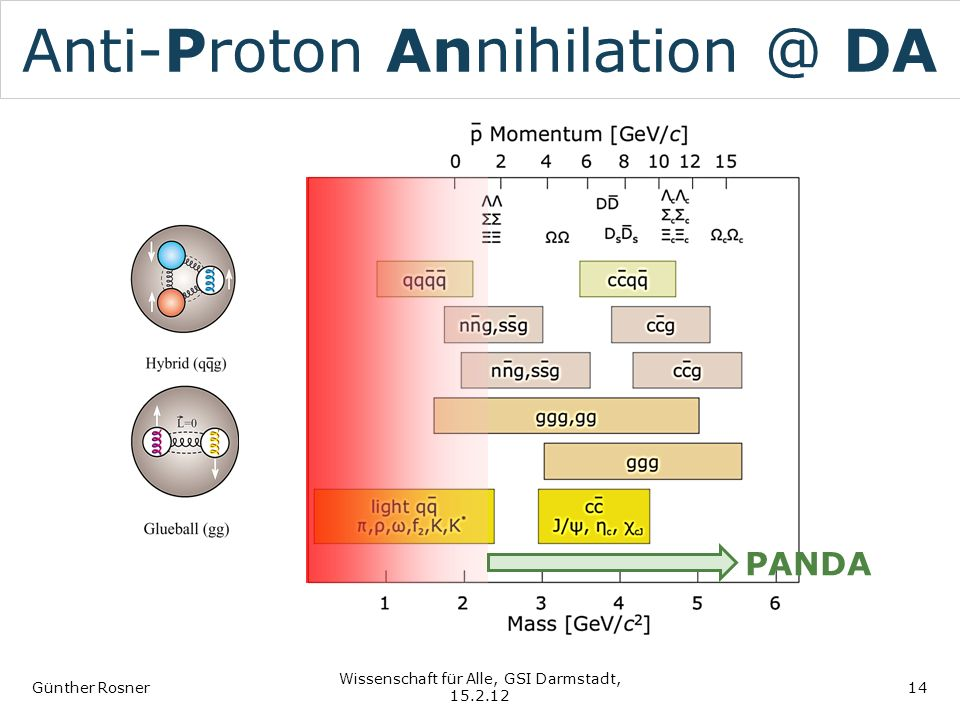 Anti-Proton Annihilation @ DA