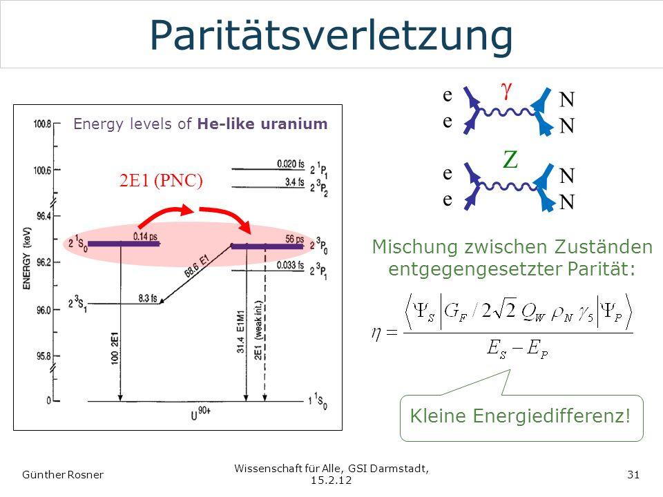 Paritätsverletzung g Z e N 2E1 (PNC)