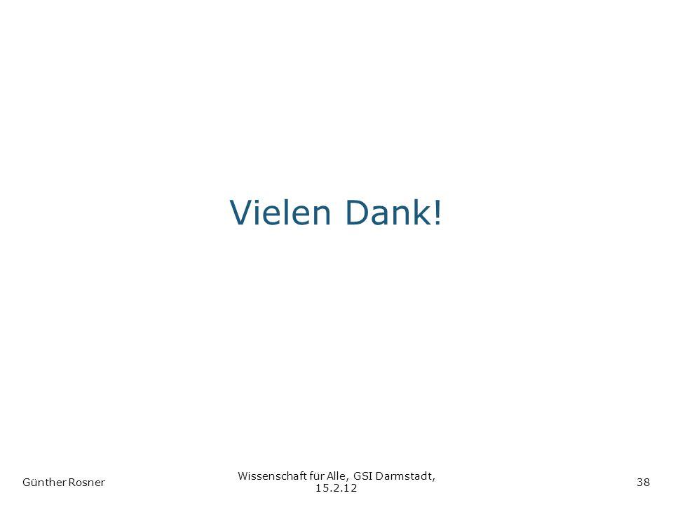 Wissenschaft für Alle, GSI Darmstadt, 15.2.12