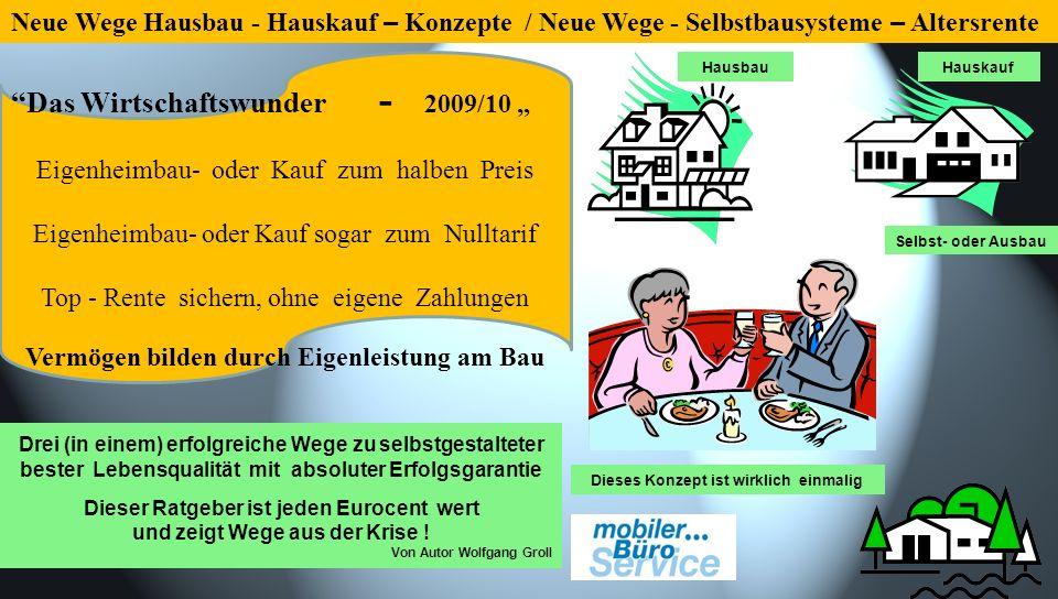 """Das Wirtschaftswunder - 2009/10 """""""