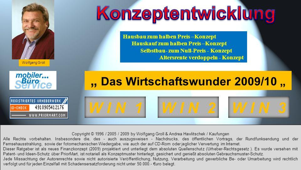 """"""" Das Wirtschaftswunder 2009/10 """""""