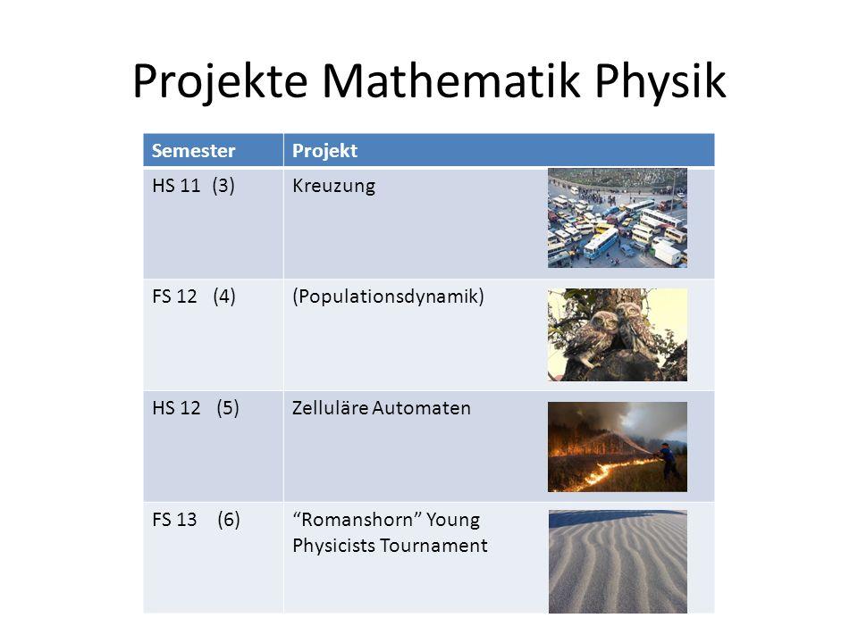 Projekte Mathematik Physik
