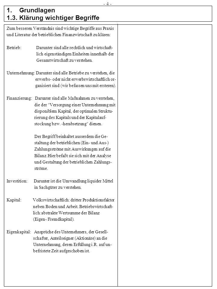 1. Grundlagen 1.3. Klärung wichtiger Begriffe