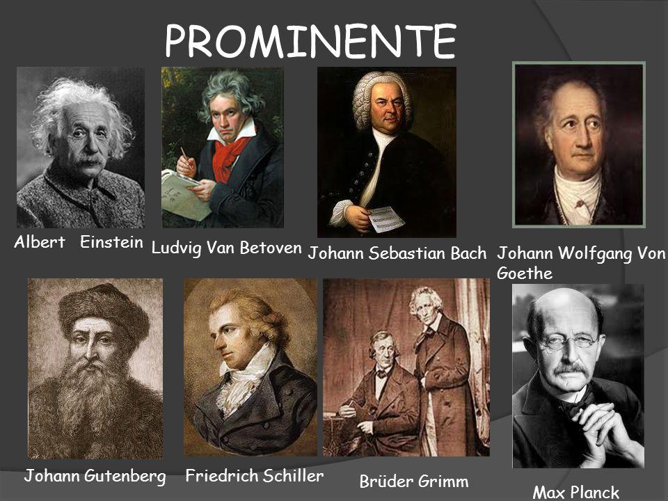 PROMINENTE Albert Einstein Ludvig Van Betoven Johann Sebastian Bach