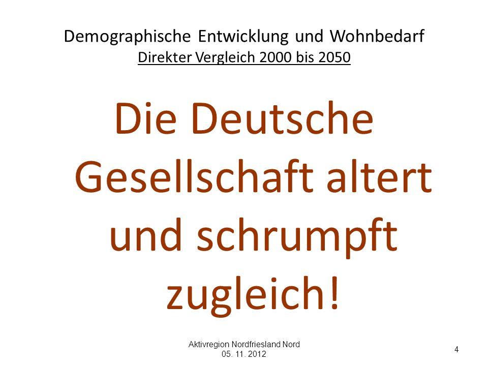 Die Deutsche Gesellschaft altert und schrumpft zugleich!