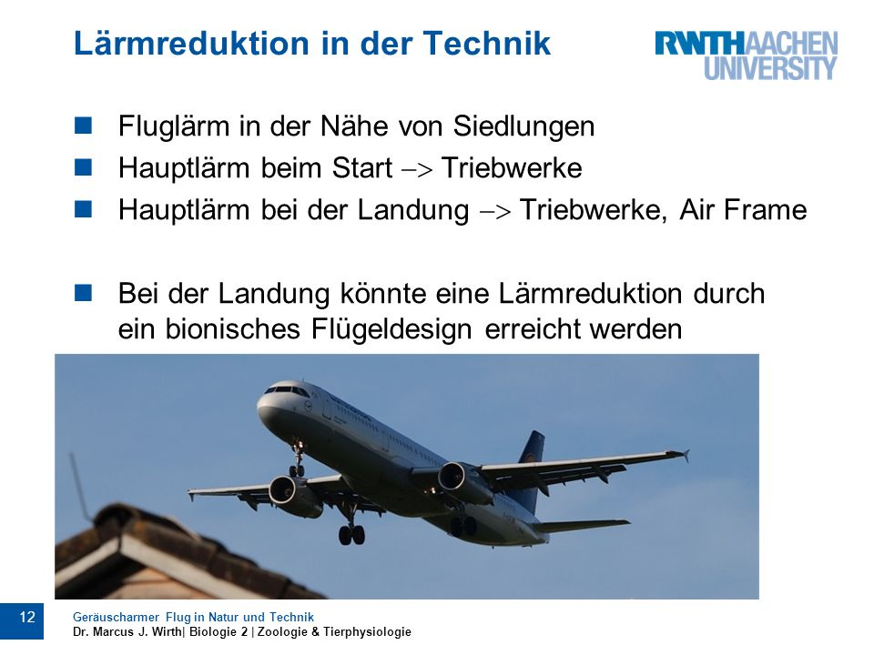 Lärmreduktion in der Technik