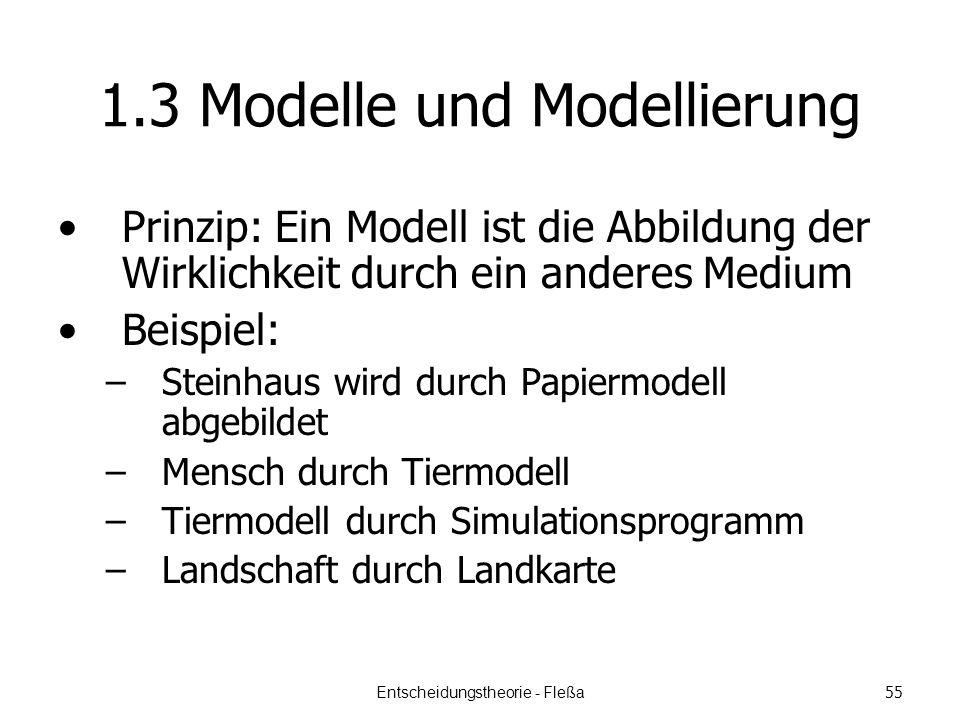 1.3 Modelle und Modellierung