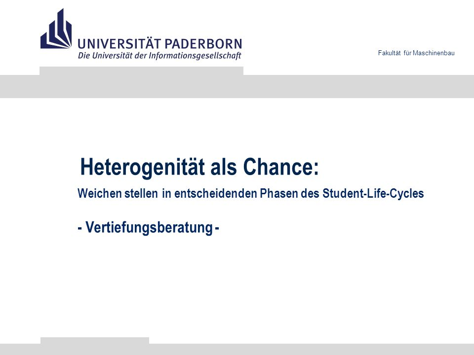 Heterogenität als Chance: