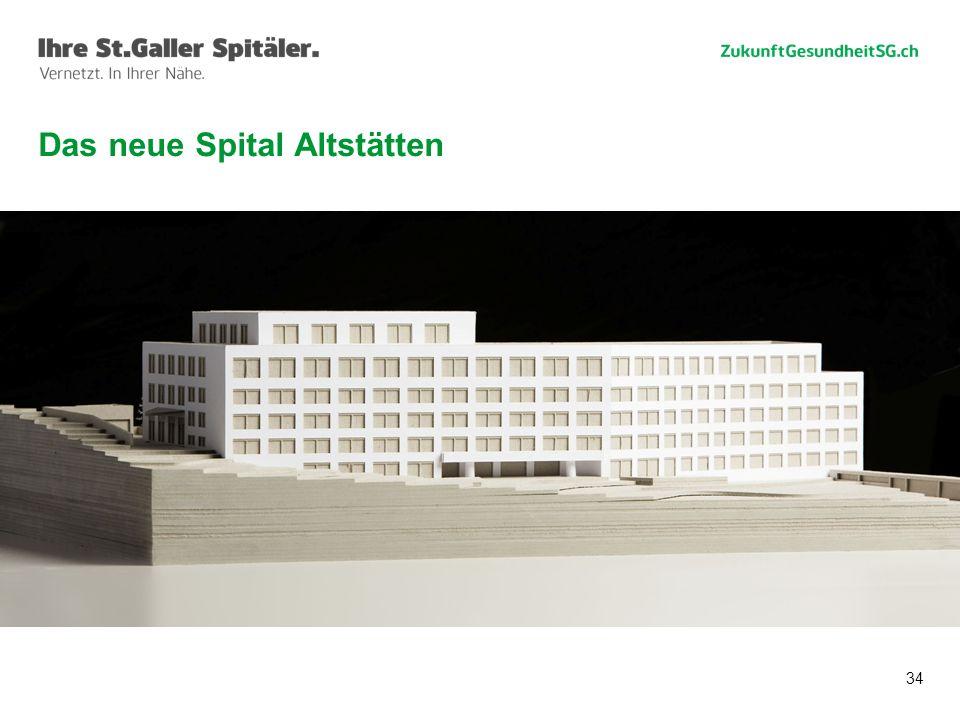 Das neue Spital Altstätten