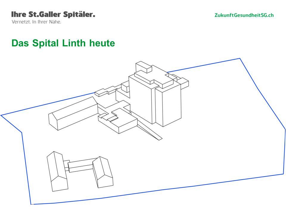 Das Spital Linth heute Willi Haag