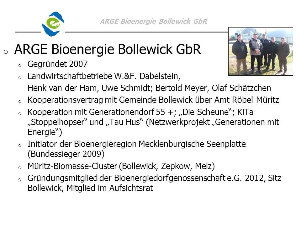 ARGE Bioenergie Bollewick GbR