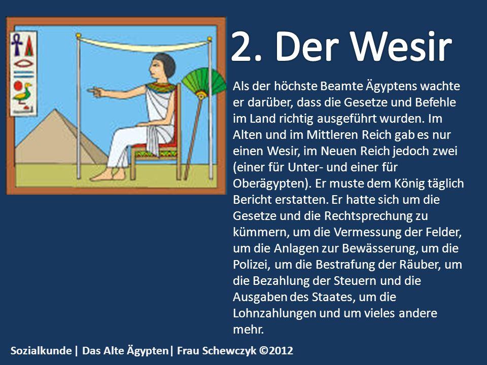 2. Der Wesir