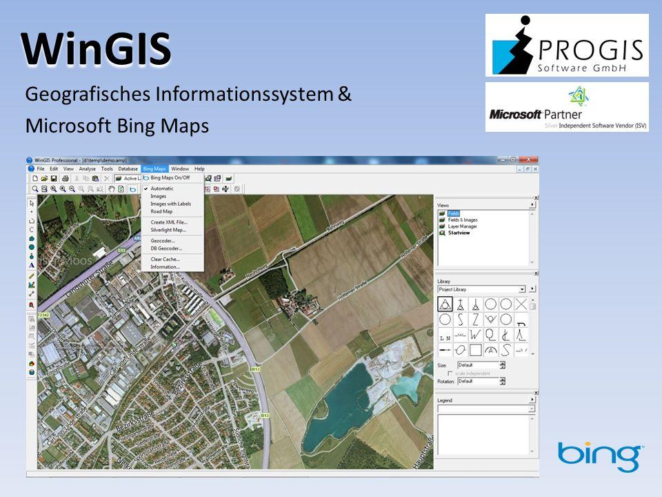 Geografisches Informationssystem & Microsoft Bing Maps
