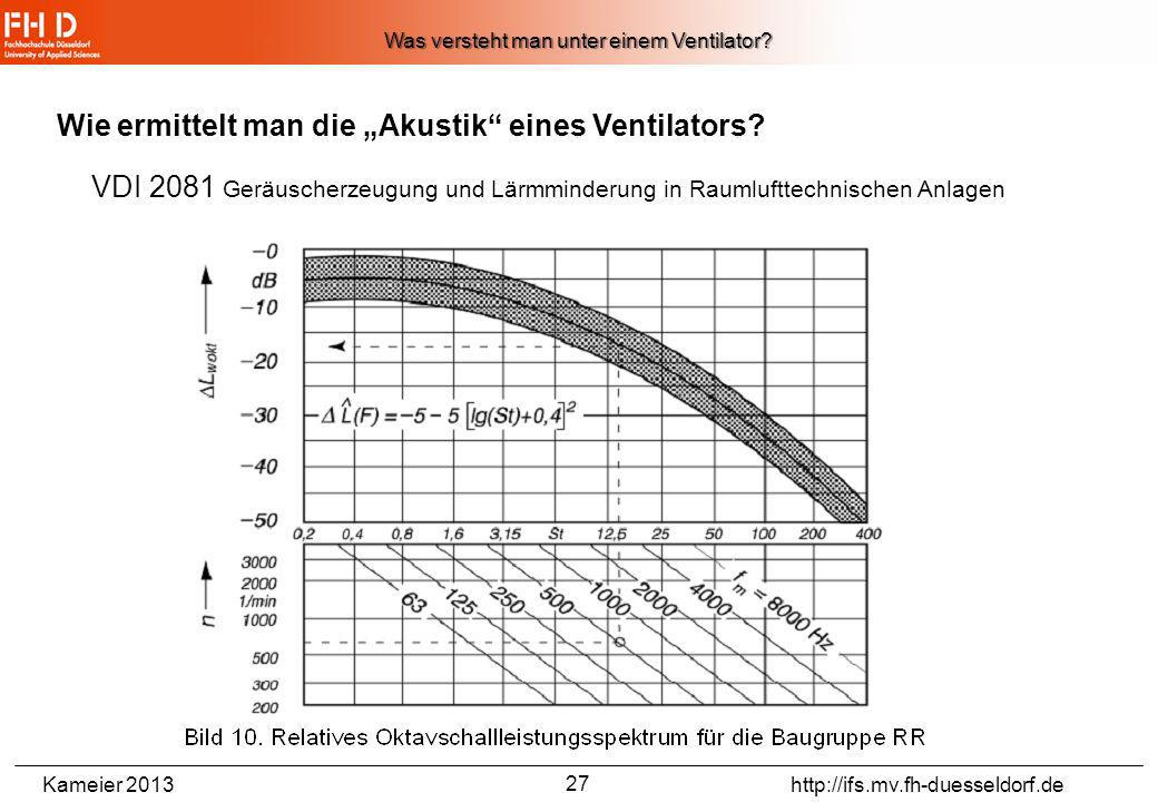 Was versteht man unter einem Ventilator