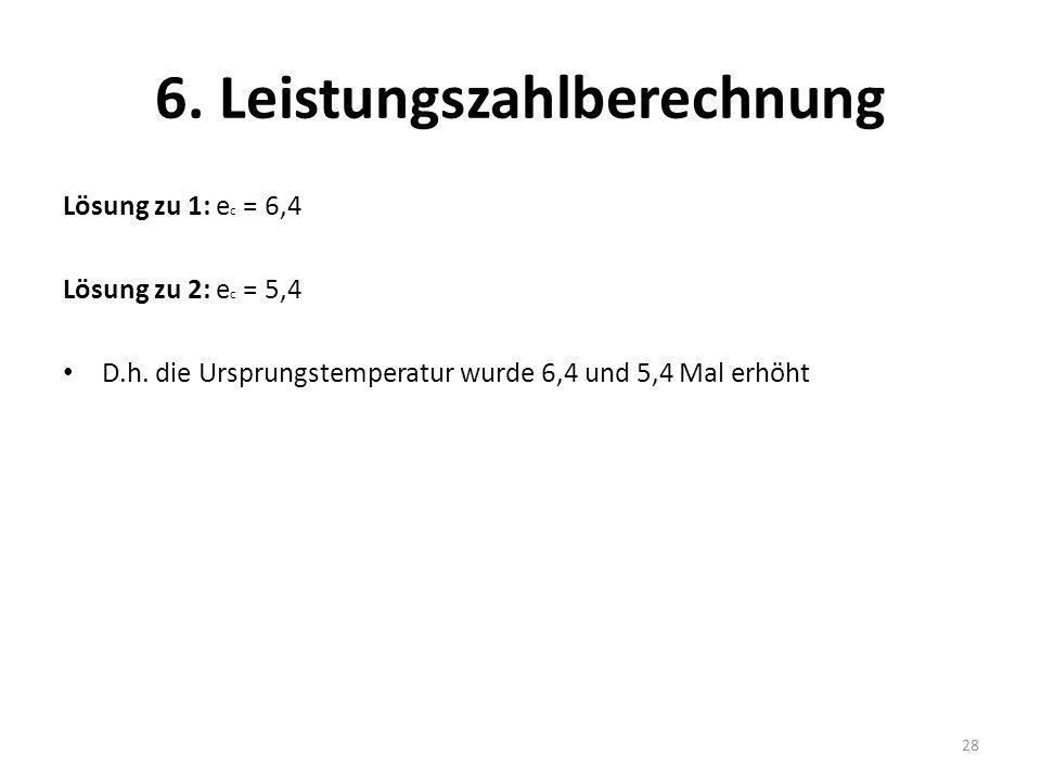 6. Leistungszahlberechnung