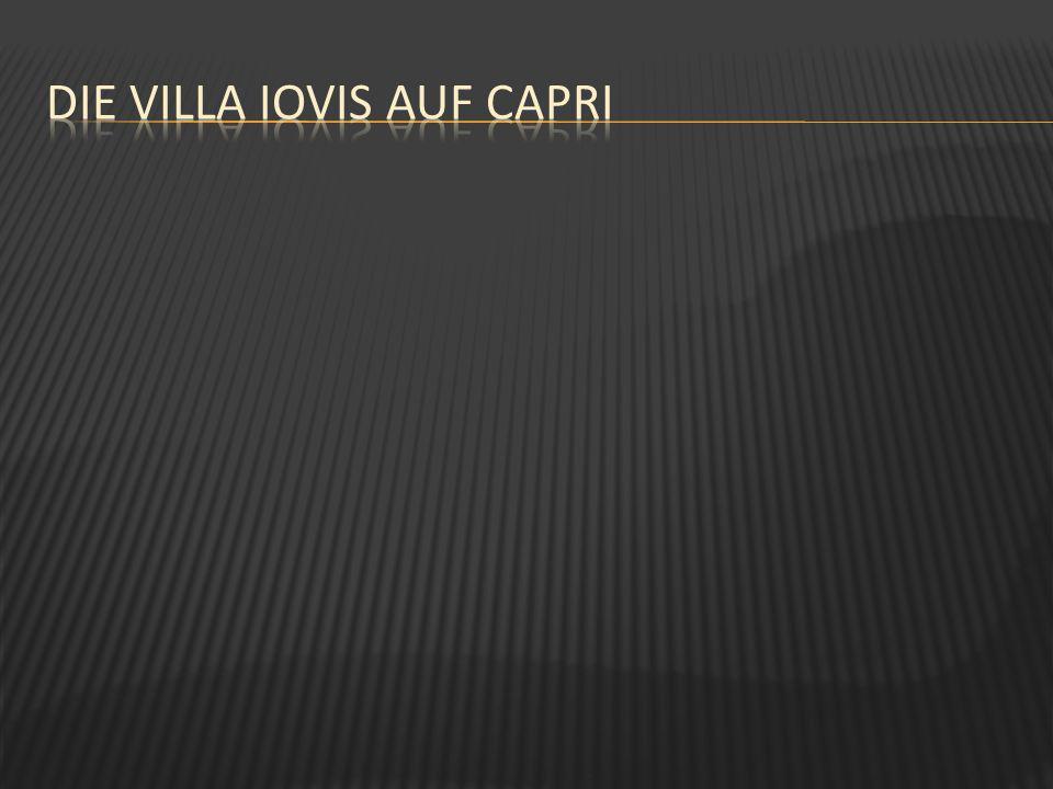 Die villa iovis auf Capri