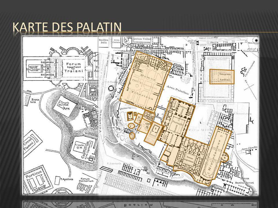 Karte des palatin