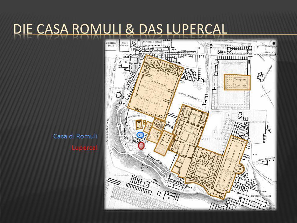 Die Casa Romuli & das Lupercal
