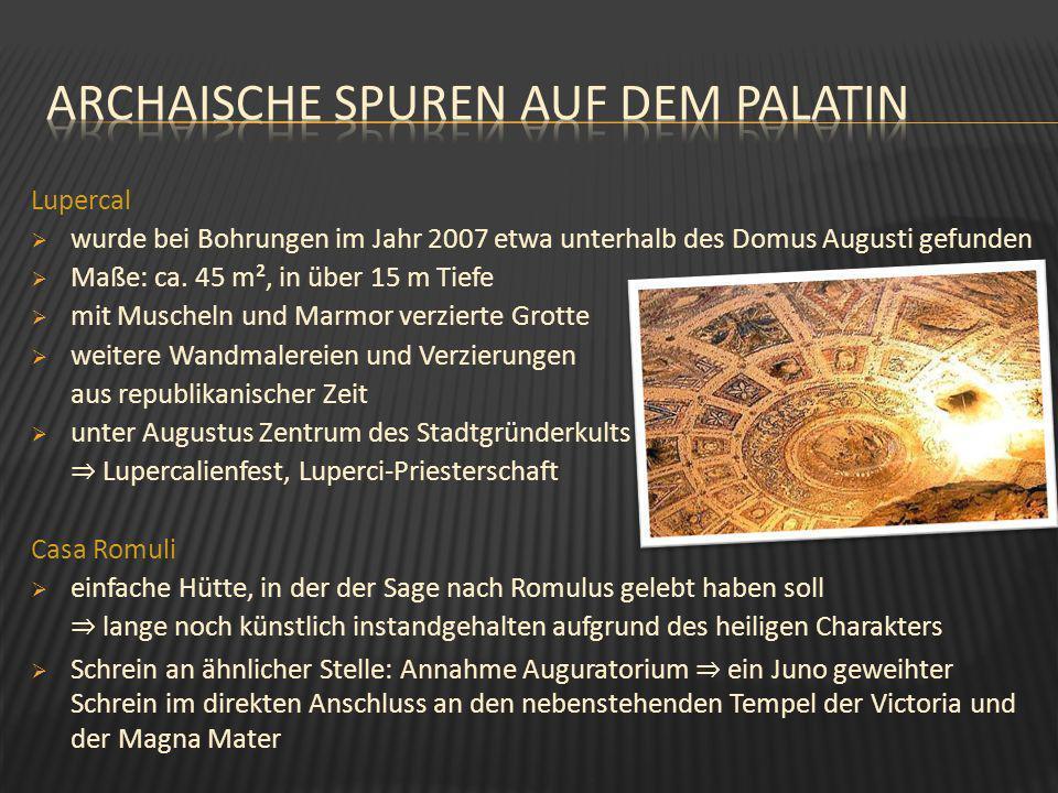 Archaische Spuren auf dem palatin