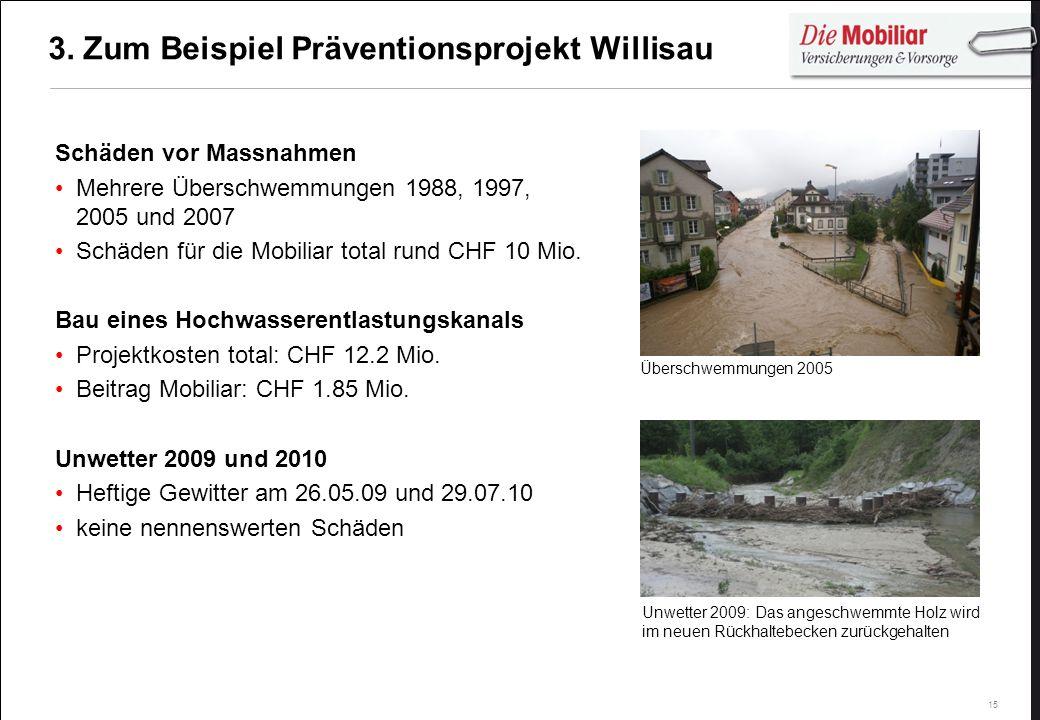 3. Zum Beispiel Präventionsprojekt Willisau