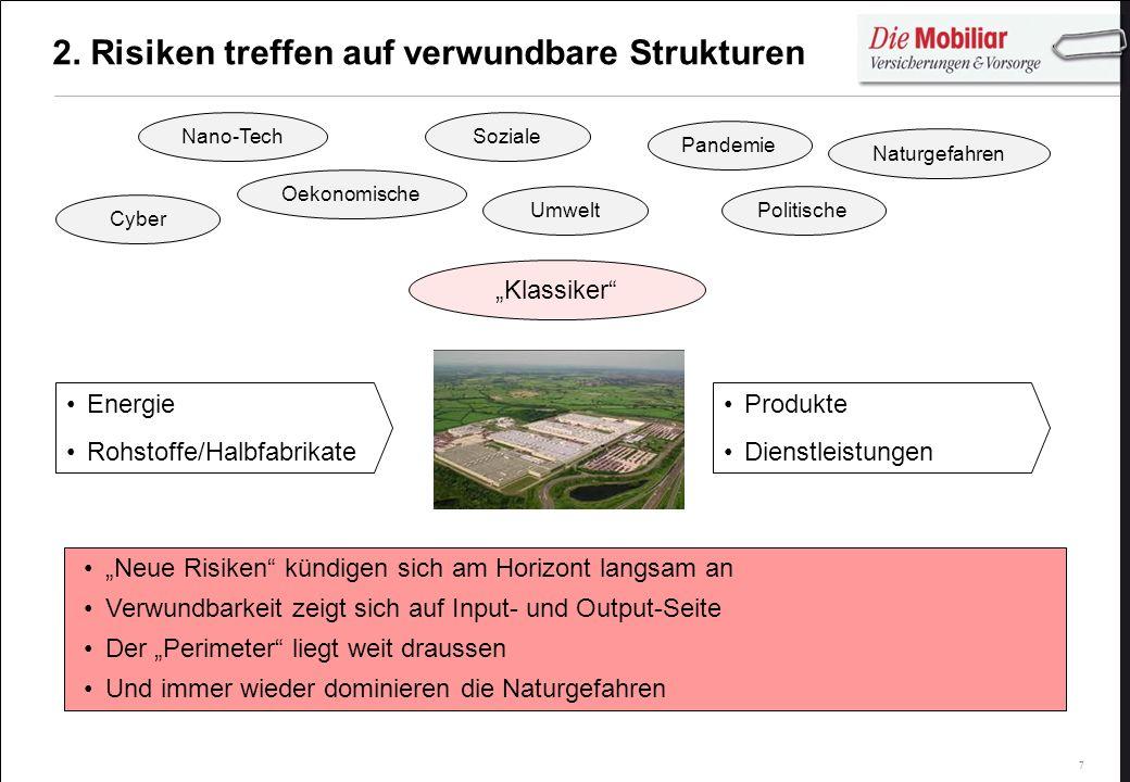 2. Risiken treffen auf verwundbare Strukturen