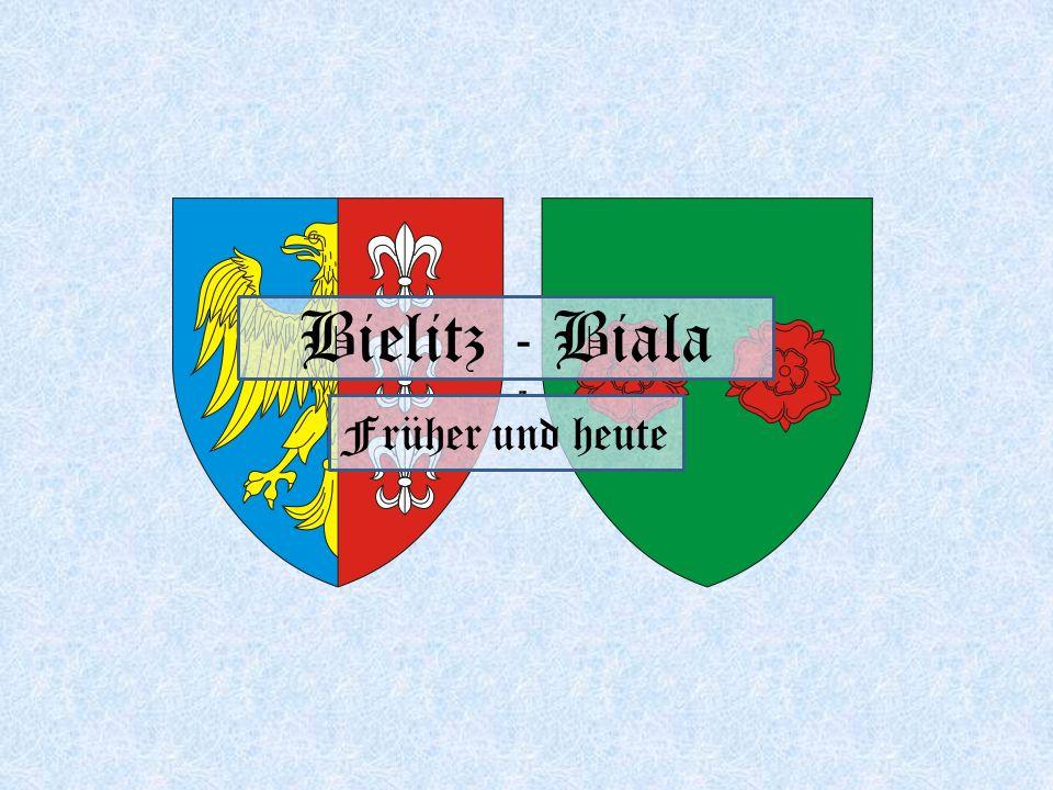 Bielitz - Biala Früher und heute