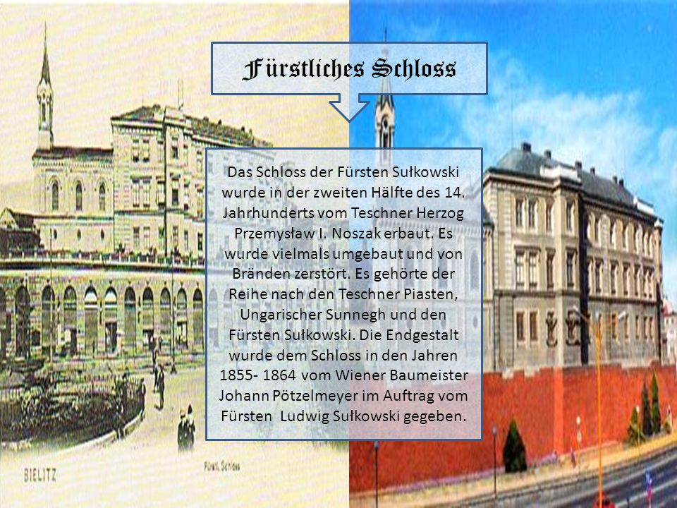 Fürstliches Schloss