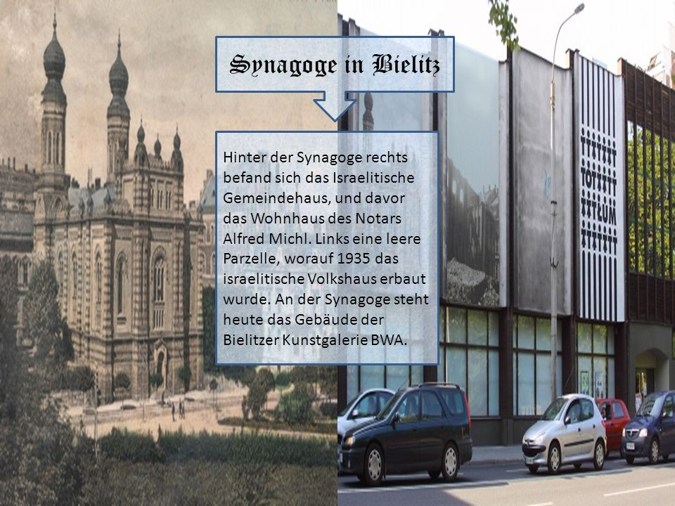 Synagoge in Bielitz