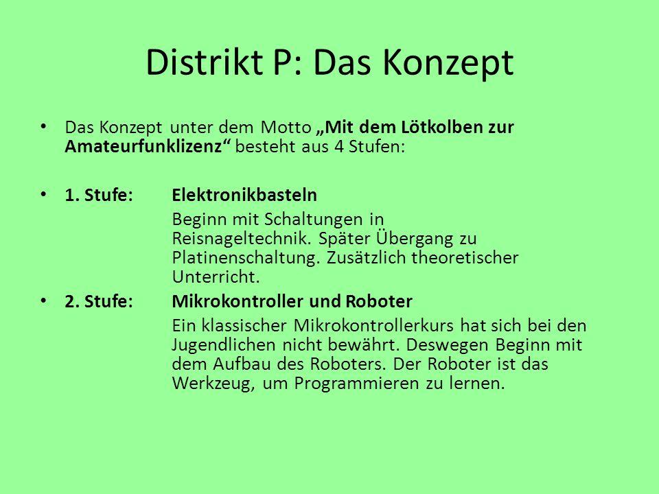 Distrikt P: Das Konzept
