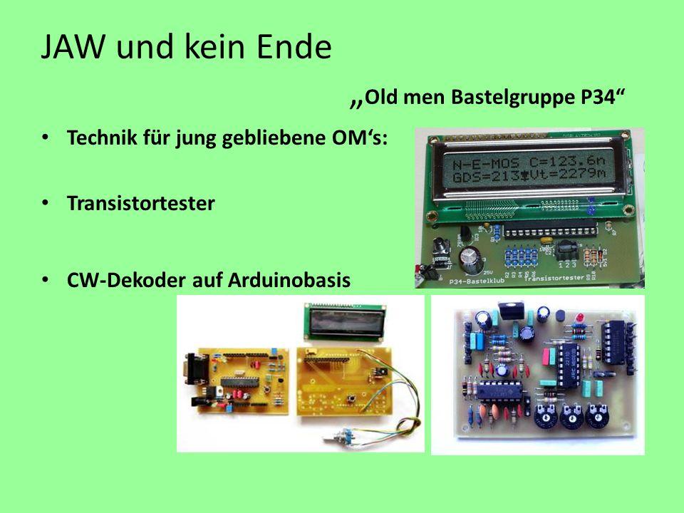 """JAW und kein Ende """"Old men Bastelgruppe P34"""