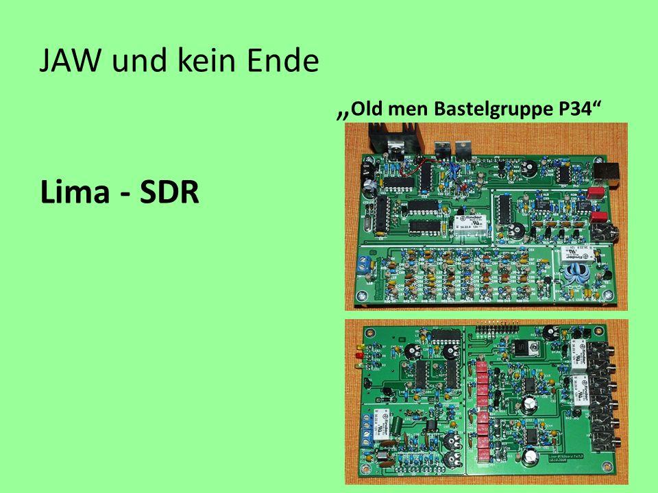 "JAW und kein Ende ""Old men Bastelgruppe P34 Lima - SDR"