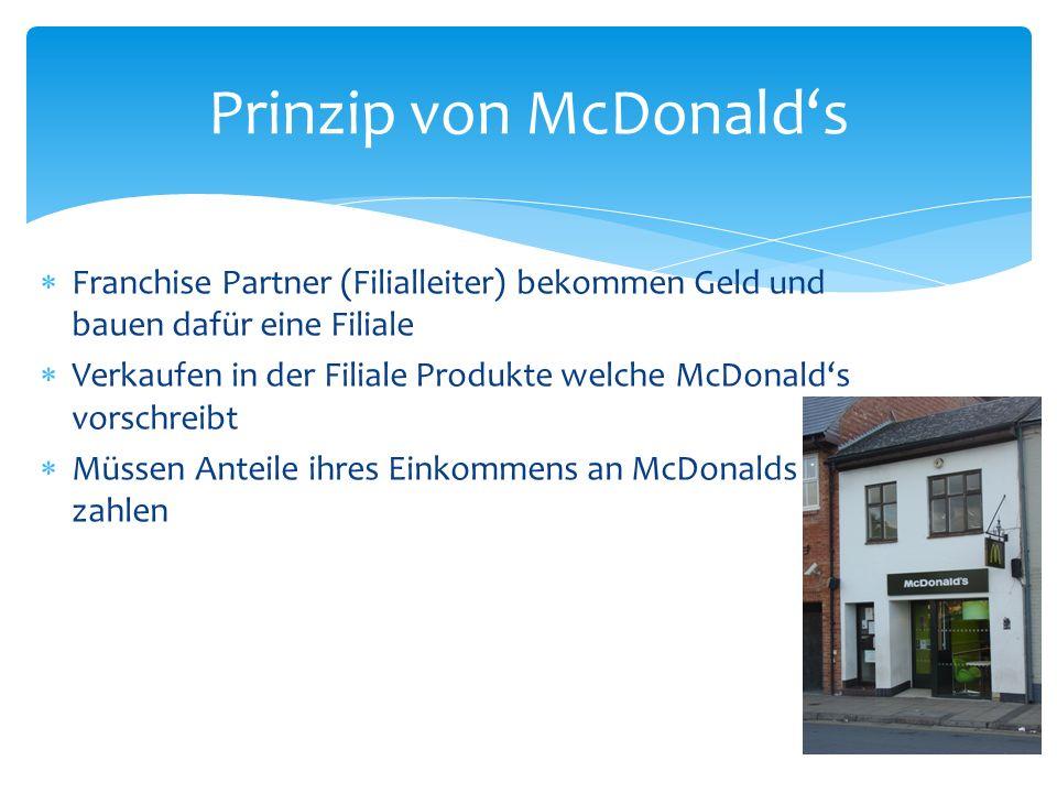 Prinzip von McDonald's