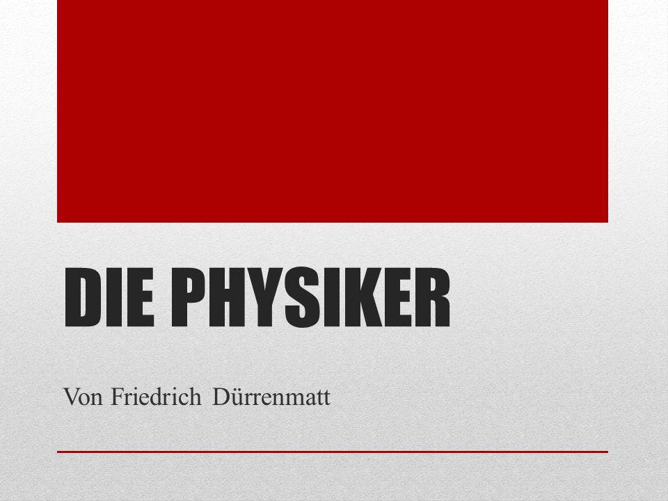 Von Friedrich Dürrenmatt