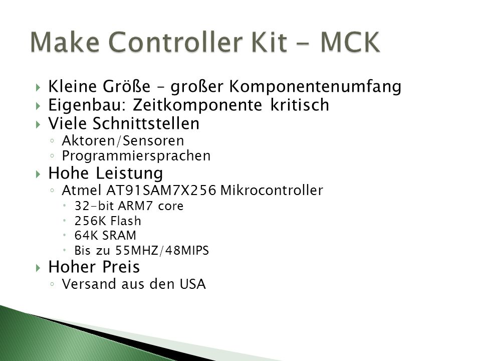Make Controller Kit - MCK