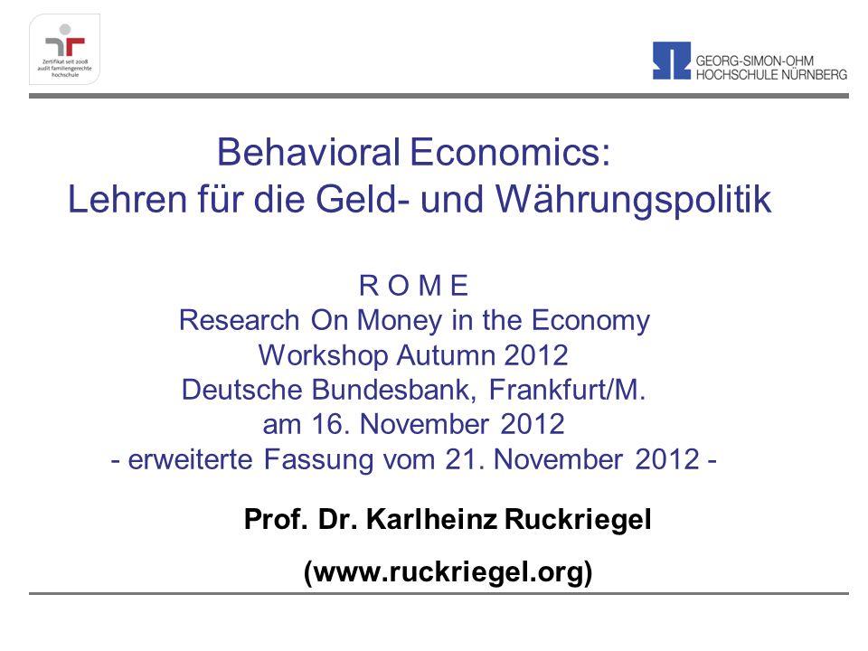 Prof. Dr. Karlheinz Ruckriegel (www.ruckriegel.org)