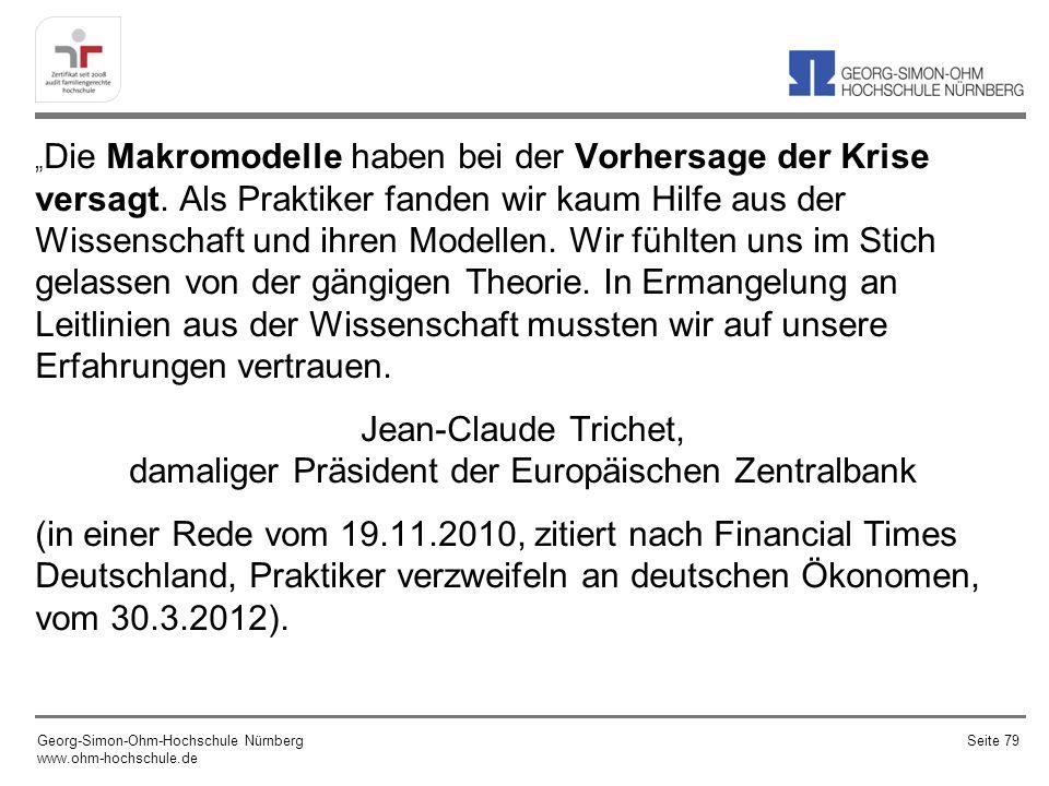 Jean-Claude Trichet, damaliger Präsident der Europäischen Zentralbank