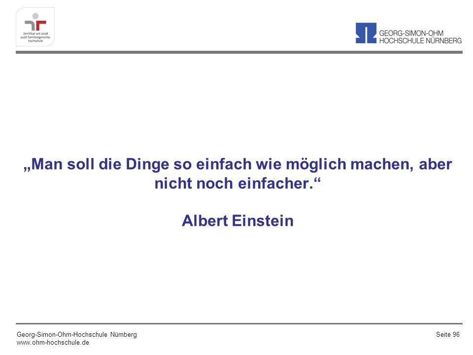 """""""Man soll die Dinge so einfach wie möglich machen, aber nicht noch einfacher. Albert Einstein"""
