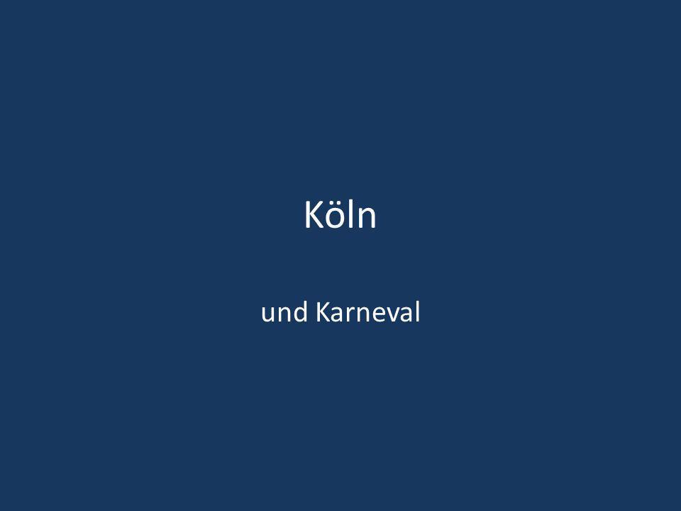 Köln und Karneval