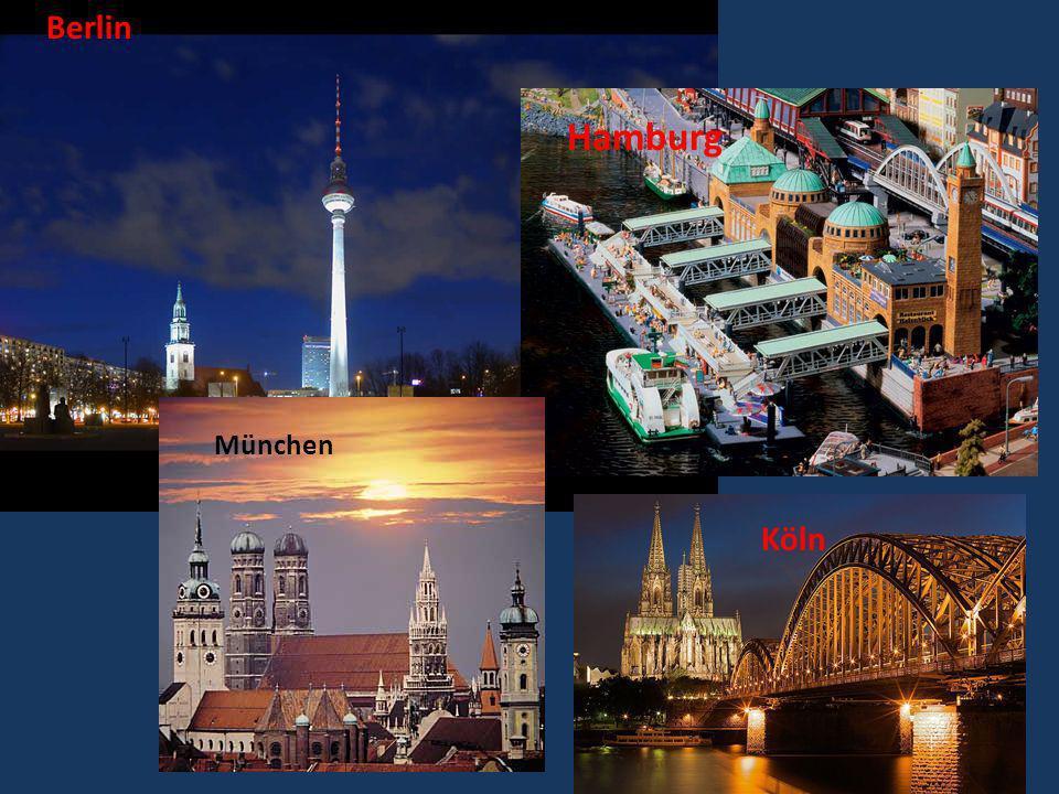Berlin Hamburg München Köln