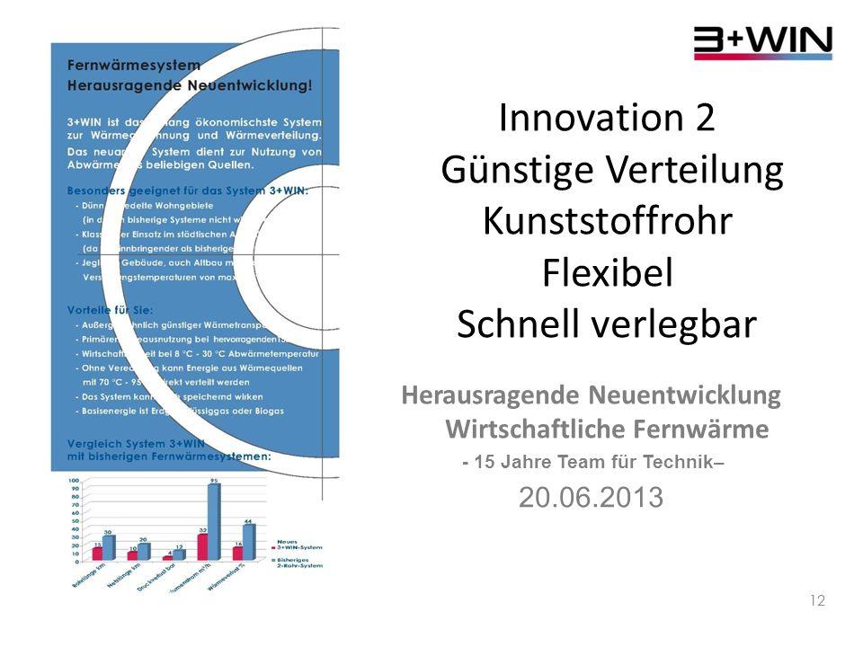 Innovation 2 Günstige Verteilung Kunststoffrohr Flexibel Schnell verlegbar
