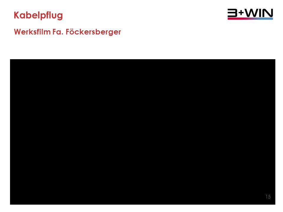 Kabelpflug Werksfilm Fa. Föckersberger 15