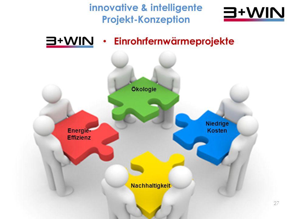 innovative & intelligente Projekt-Konzeption