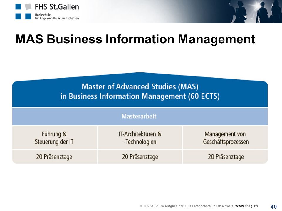 MAS Business Information Management