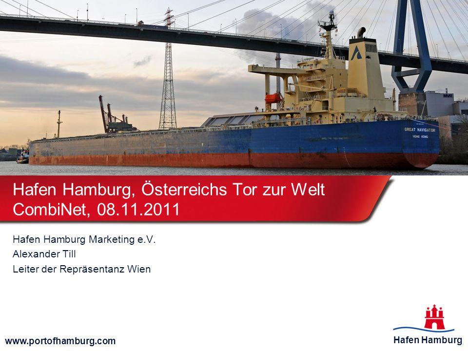 Hafen Hamburg, Österreichs Tor zur Welt CombiNet, 08.11.2011