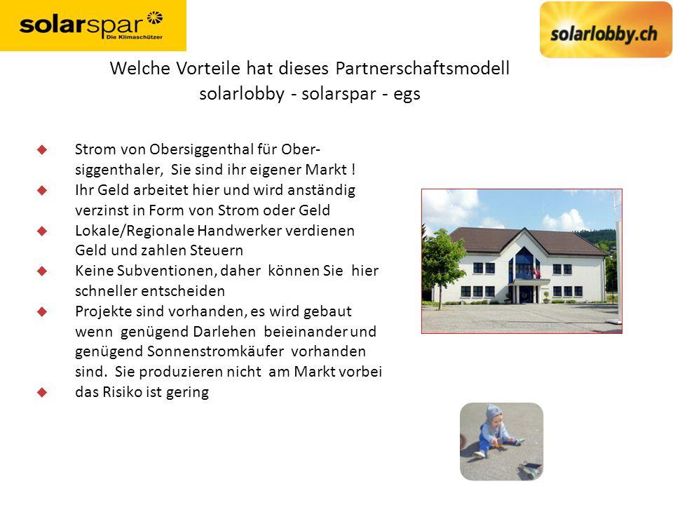 Welche Vorteile hat dieses Partnerschaftsmodell solarlobby - solarspar - egs