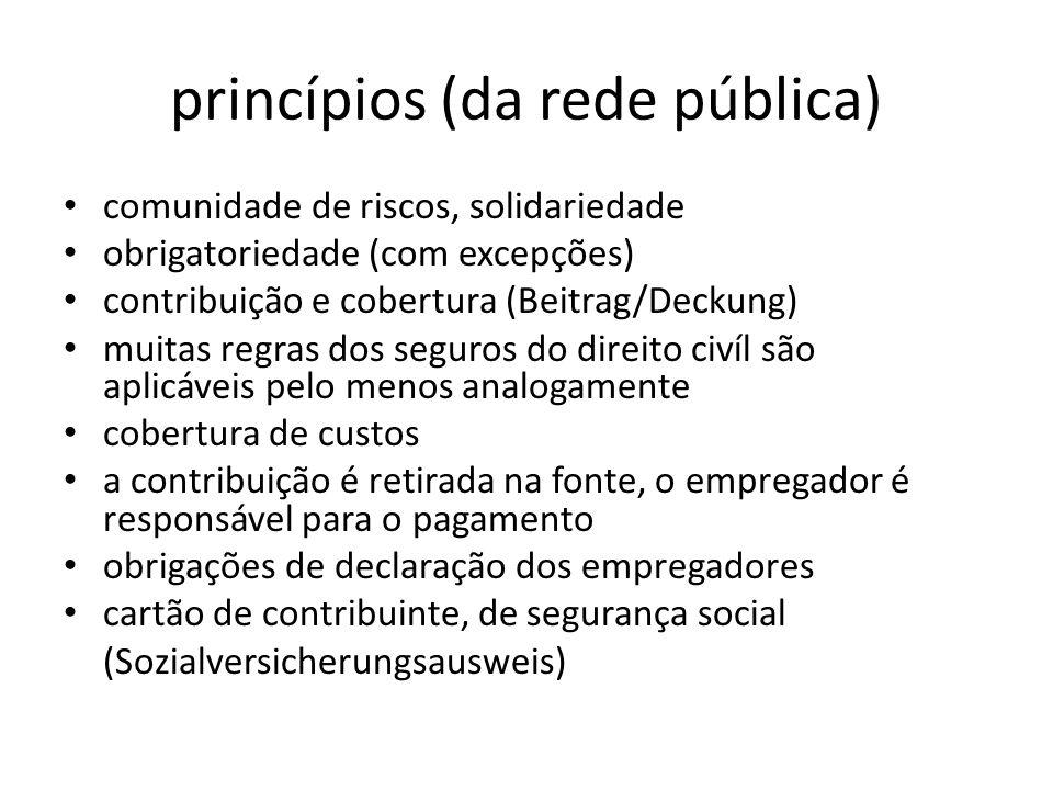 princípios (da rede pública)