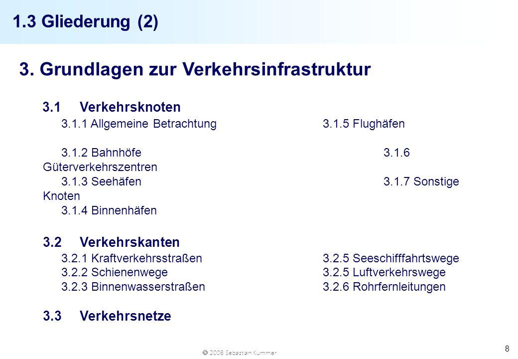 3. Grundlagen zur Verkehrsinfrastruktur