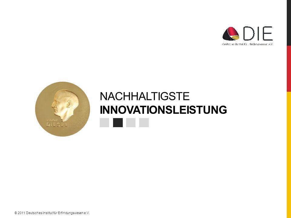 NACHHALTIGSTE innovationsleistung