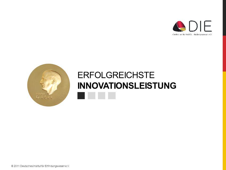 Erfolgreichste innovationsleistung