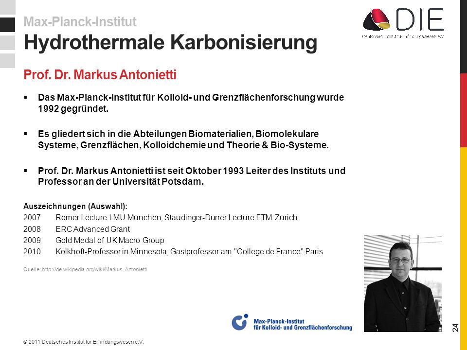 Prof. Dr. Markus Antonietti